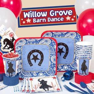 Western Lasso Cowboy Party Supplies