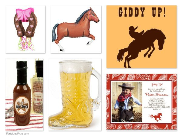 Western Cowboy Theme Party Ideas, Planning & Supplies