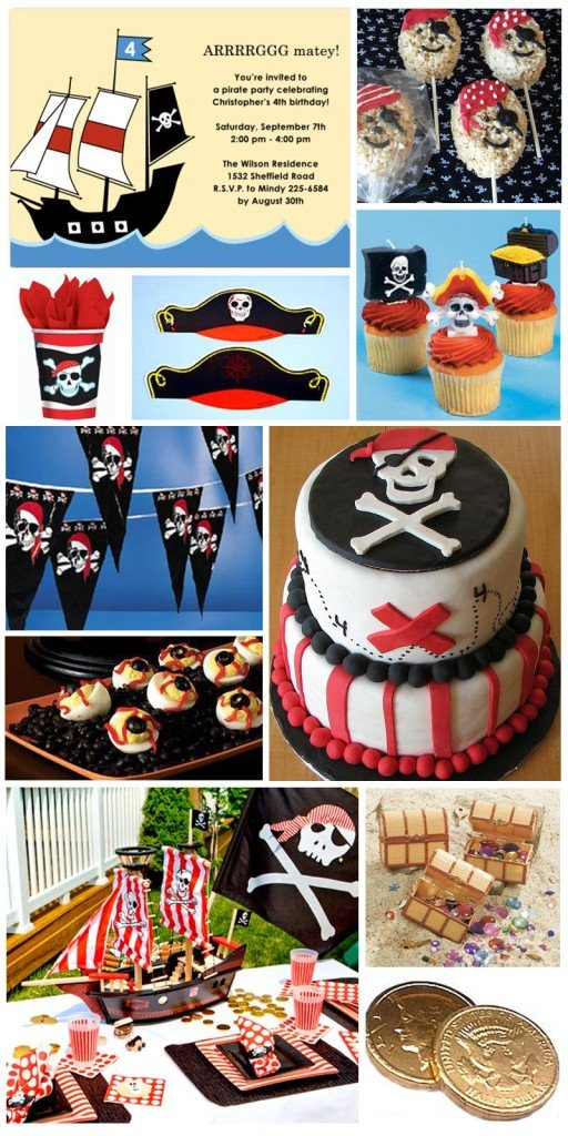 Pirate Theme Party Planning, Ideas and Supplies