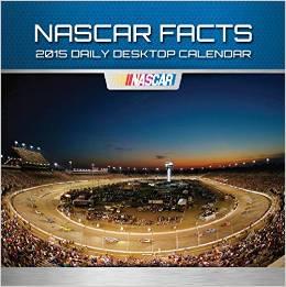 2015 NASCAR Facts Daily Desktop Calendar