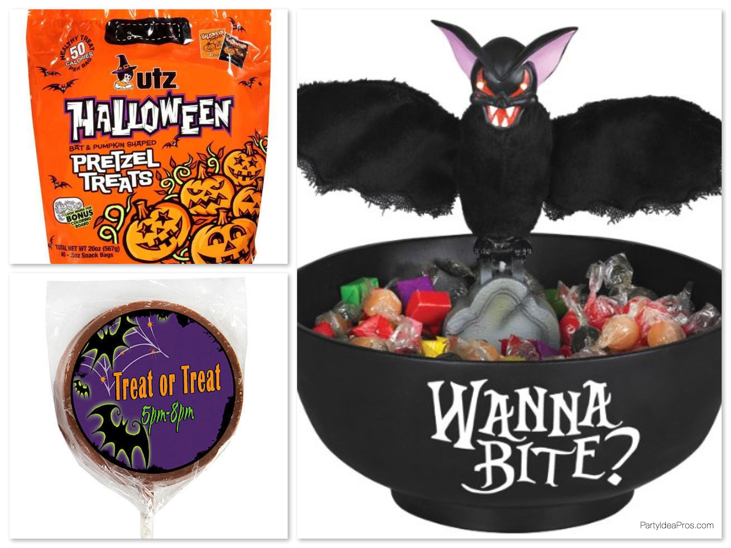 Bat Theme Halloween Party Treats, Halloween in the Classroom