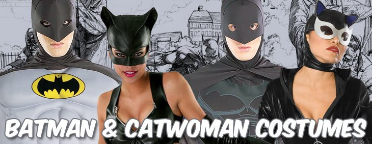 Batman & Catwoman Couples Costumes