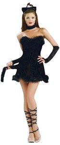 Black Kitty Cat Teen Costume