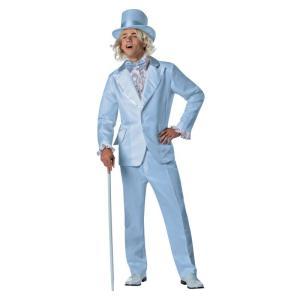 Blue Tuxedo Adult Costume