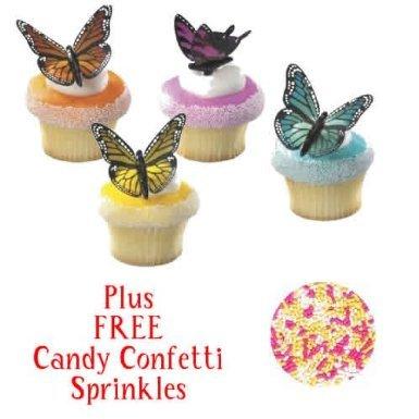 Butterflies Cupcakes