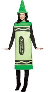 Crayola Tickle Me Pink Crayon Tank Dress Adult Costume