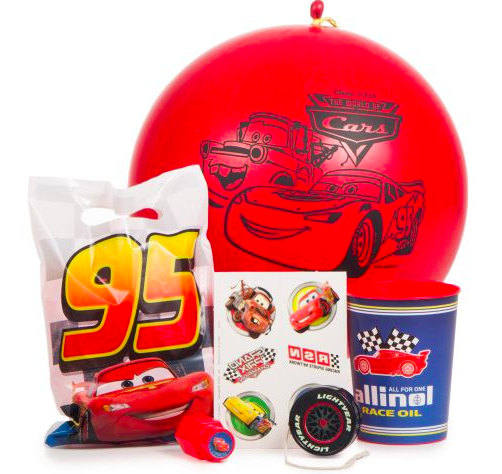 Disney Cars Party Deluxe Favor Kit
