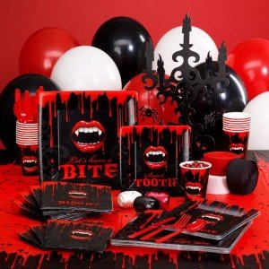 Fangtastic Halloween Deluxe Party Kit