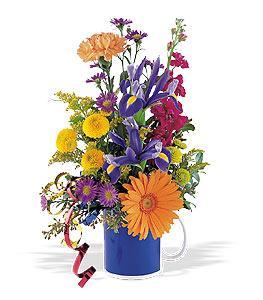 Flowers-in-a-Mug