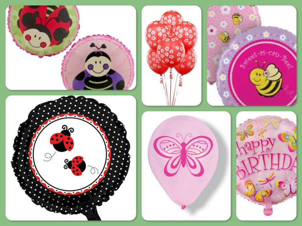 Garden Party Balloons