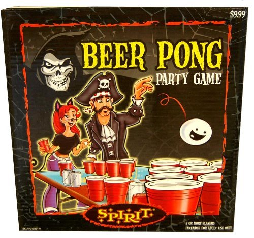 Halloween Beer Pong Party Game