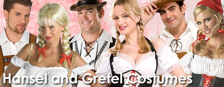 Hansel_Gretel Couples Costumes