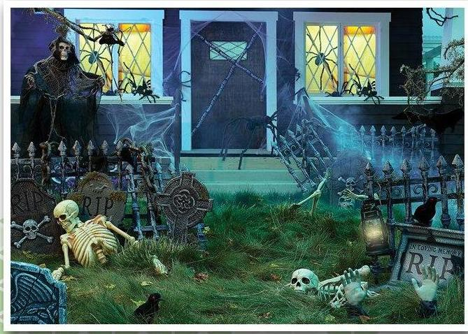 Haunted House Decor, Halloween Party Supplies