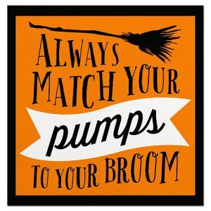 Match Your Pumps Beverage Napkin