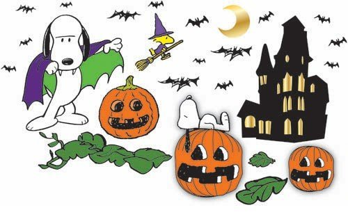 Peanuts Halloween Bulletin Board Set