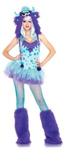 Polka Dotty Monster Adult Costume