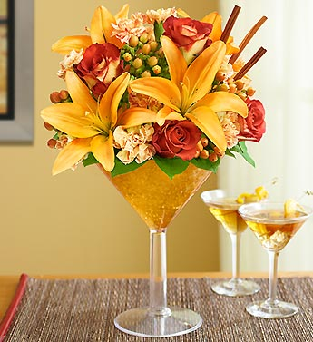 Pumpkin Spice Martini Bouquet