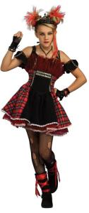 Punk Ballerina Teen Costumes