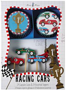 Race Car Cupcake Set