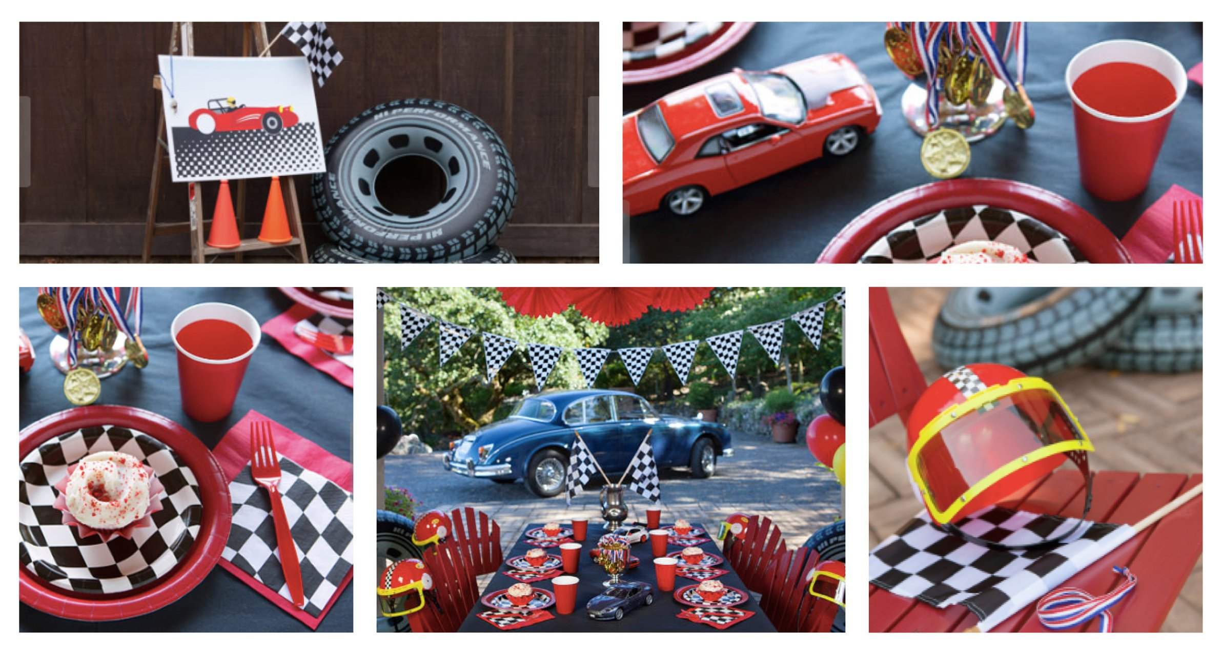 Racecar Birthday Party - Complete Package