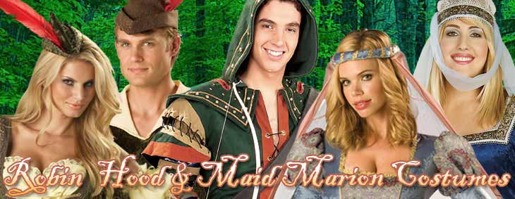 Robin Hood Maid Marion Couples Costumes