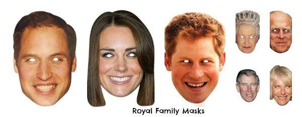 Royal Family Masks