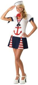 Sassy Sailor Teen Costume
