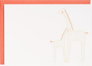 Giraffe Printable Party Invitations