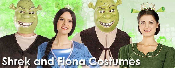 Shrek Couples Costumes