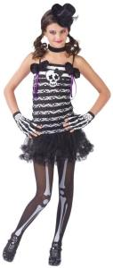 Skeleton Sweetie Teen Costumes