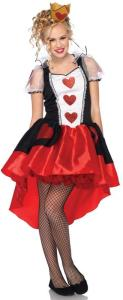 Teen Wonderland Queen Costume