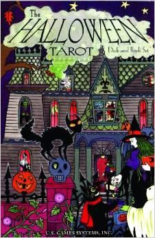The Halloween Tarot Deck & Book Set