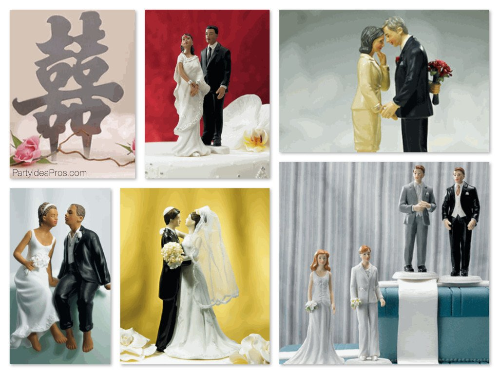 Love for All Wedding Cake Toppers