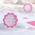 flower design party supplies