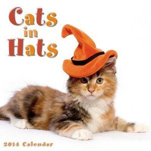Cats in hats calendar