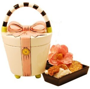 Ceramic Handbag Cookie Jar