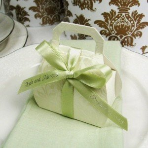 Embossed Favor Bags with Handles Purse Lover Party