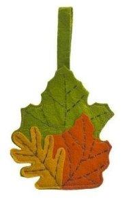Fall Leaves Utensil Holder