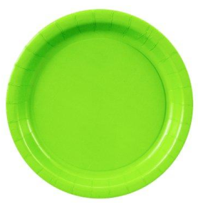 Fresh Lime (Lime Green) Dinner Plates