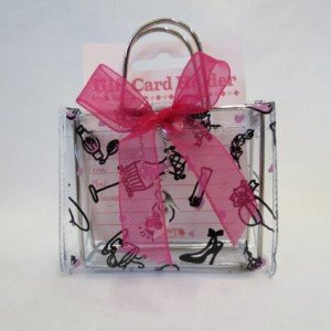 Gift Card Holder, Money Holder, Gift Box Clear Fashion Purse