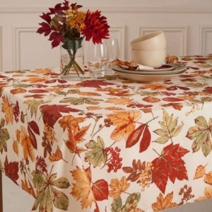 Glenwood Fall Leaves Tablecloth