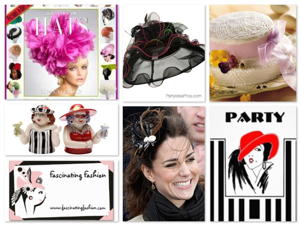 Hat Theme Party Planning, Ideas & Supplies