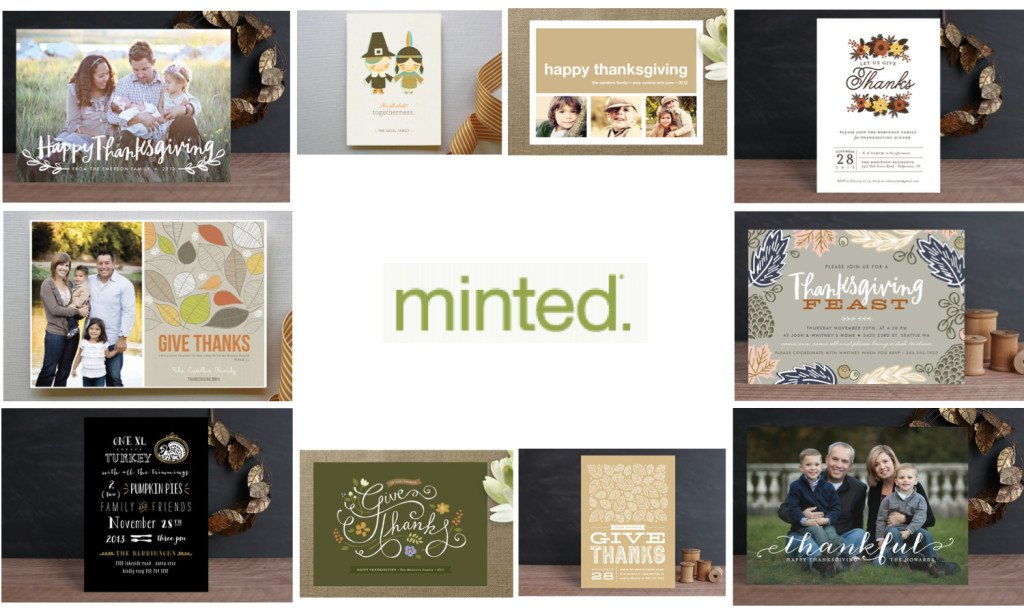 Minted Thanksgiving Invitations