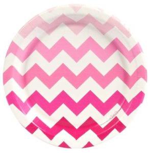Pink! Dessert Plates