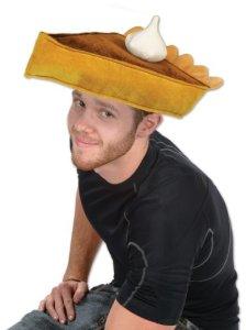 Plush Pumpkin Pie Hat