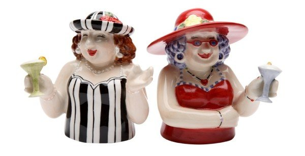 Sophiscated Ladies Salt and Pepper