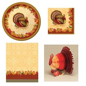 Thanksgiving Blessings Disposable Dinnerware