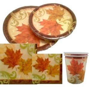 Thanksgiving Falling Leaves Set
