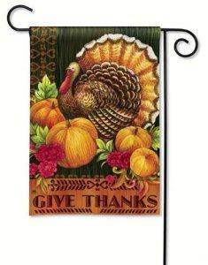 Thanksgiving Garden Flag
