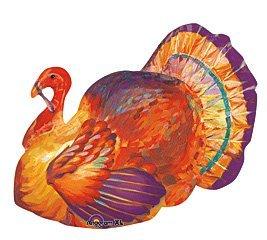 Thanksgiving Turkey Mylar Balloon
